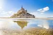 canvas print picture - Mont Saint-Michel, Normandy, France