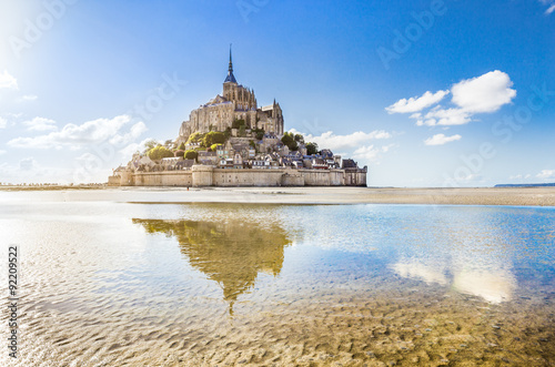 Fotografie, Obraz  Mont Saint-Michel, Normandy, France