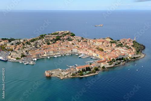 Cuadros en Lienzo Portoferraio harbor- Elba island