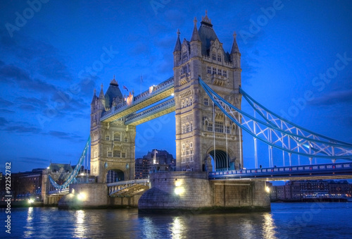 Tower Bridge in London - 92252782