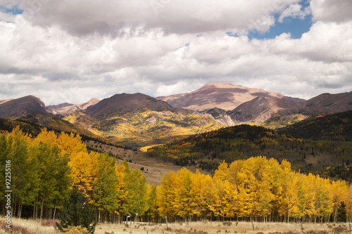 Poster Miel Autumn Falls on Pike's Peak in Colorado