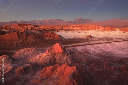 Obraz Moon Valley, Atacama Desert, Chile - fototapety do salonu