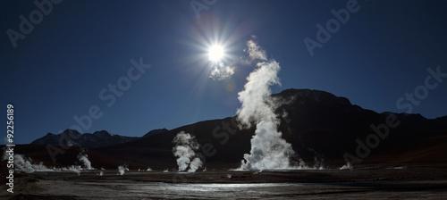 Fotografie, Tablou Tatio geysers, Atacama desert, Chile