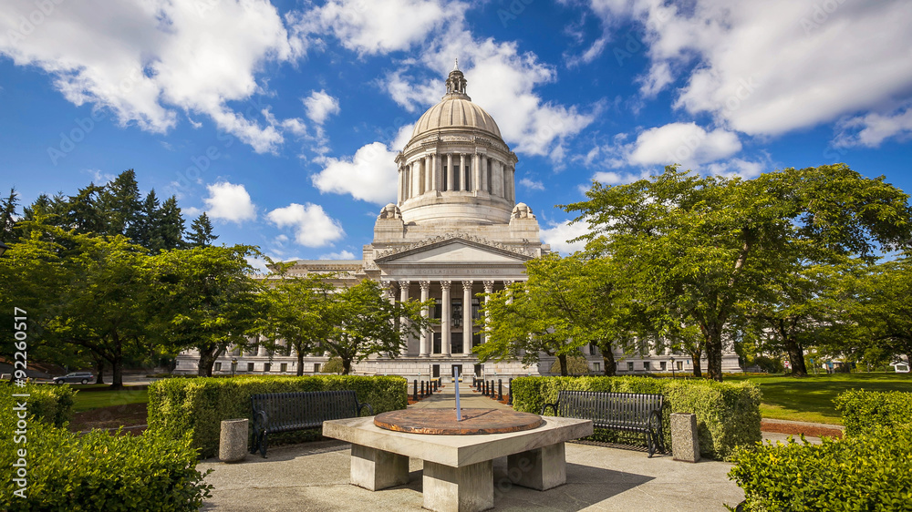 Fototapety, obrazy: Washington's State Capitol in Olympia