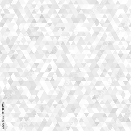 White triangle mosaic background
