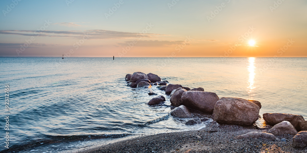 Sonnenaufgang Timmendorfer Strand, Ostsee