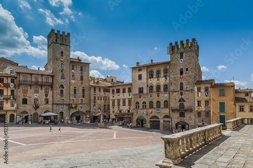 Arezzo - Tuscany - Italy Canvas Print