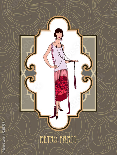 good 1920s party invitation for 61 1920s party invitation template