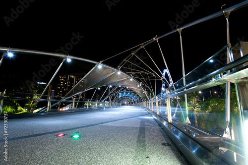 Photo  Helix Bridge singapore travel Landmarks