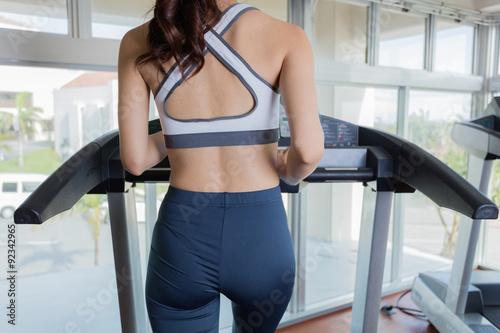 Spoed Foto op Canvas Fitness 女性 フィットネスジム