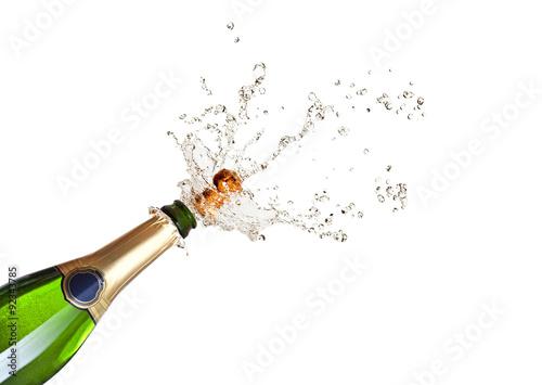 Fotografie, Obraz  popping champagne