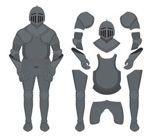 Medieval Knight Armor Set