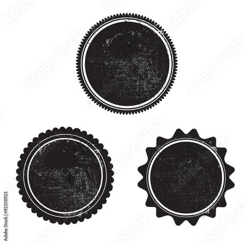grunge stamp black templeta vector with textures