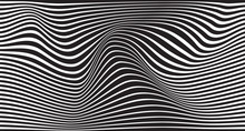 Black And White Mobious Wave S...