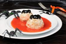 Chicken Meatballs In Tomato Sa...