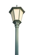 Street Light Pole Isolated On White