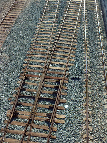 Fotografia, Obraz  vias del tren