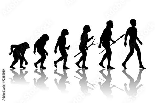 Fotografie, Obraz  Man evolution