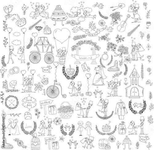 recznie-rysowany-wzor-weselny