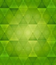 Green Diamonds Pattern Fantasy