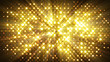 canvas print picture - flash lights disco wall abstract background