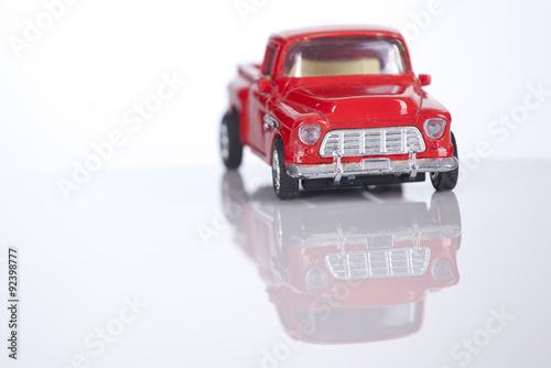 Carro De Juguete Rojo Buy This Stock Photo And Explore Similar
