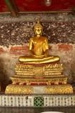 buddha statue golden color temple Asia