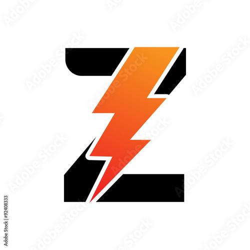 Photo initial Lightning Logo
