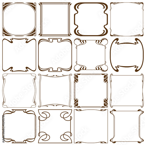 Vector corners to create a frame - Buy this stock vector and explore ...