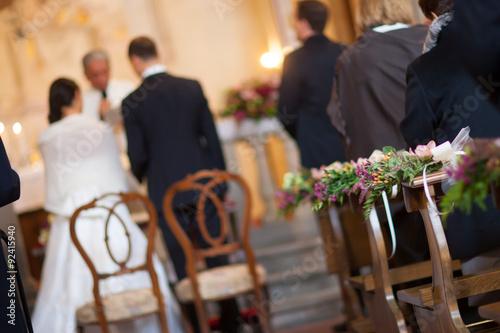 Fotografie, Obraz  Klausen addobbata za matrimonio