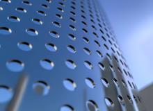 Perforated Metallic Grid, Indu...