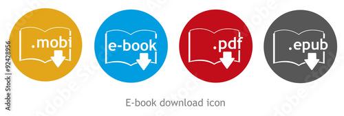Fotografía  ebook download icon