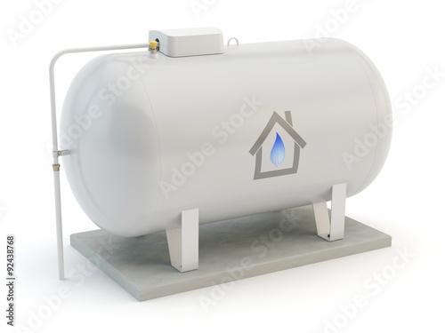 Fotografía  Gas Tank