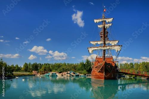 Fotografie, Obraz Prate Ship in Sazova Park Eskisehir, Turkey