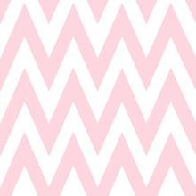 Pattern In Zigzag. Classic Che...