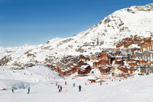 View Of The Val Thorens Ski Re...