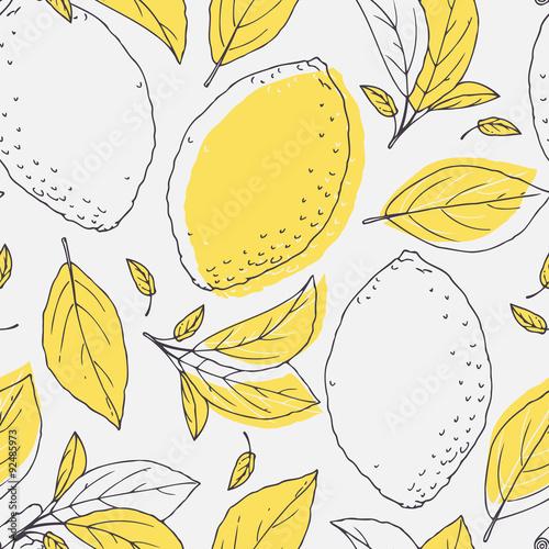 recznie-rysowane-cytryny