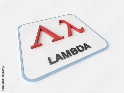 Lambda Greek Symbol Buy This Stock Illustration And Explore