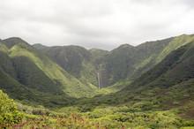 Halawa Valley Falls, Molokai, ...