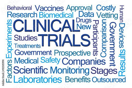 Fotografia  Clinical Trials Word Cloud
