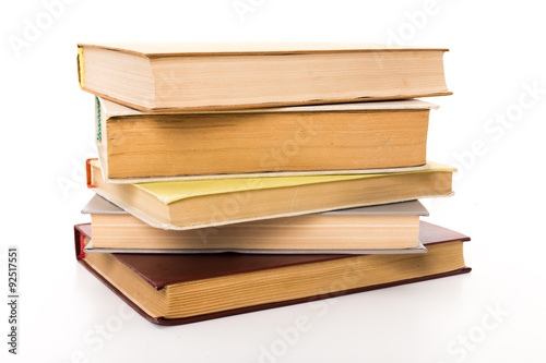 Fotografering  A pile of books