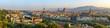 Leinwandbild Motiv Florence city skyline panorama - Florence - Italy