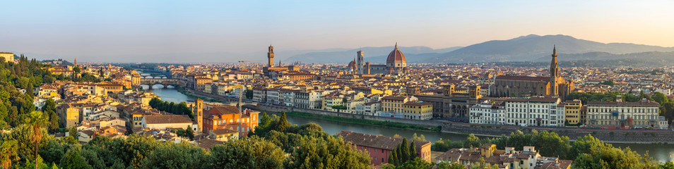 Florence city skyline panor...