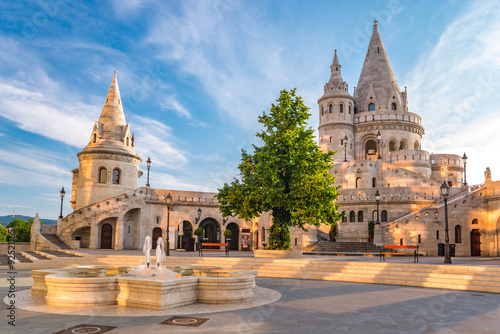 Fisherman's Bastion - Budapest - Hungary Wallpaper Mural