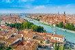 Panoramic cityscape of Verona, Veneto, Italy