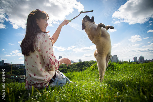 Photographie Dog Mops