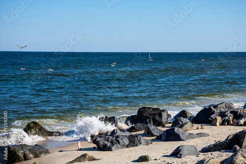 Plagát  Sandy Hook Shoreline