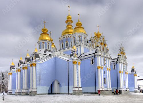 Foto op Plexiglas Kiev St Michael's Golden Domed Monastery in Kiev, Ukraine