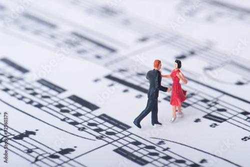 Fényképezés  楽譜とダンサー