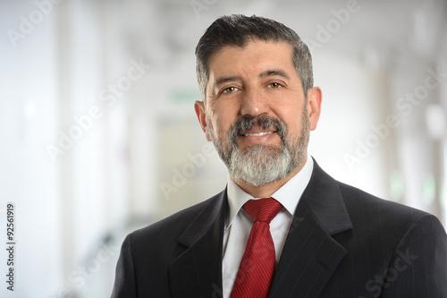 Fotografie, Obraz  Senior Businessman smiling